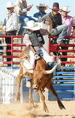 Mexican Springs Bates Ropes To 2nd Place In National High
