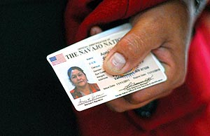 Cards Tribal Navajo Issued Id - Times First
