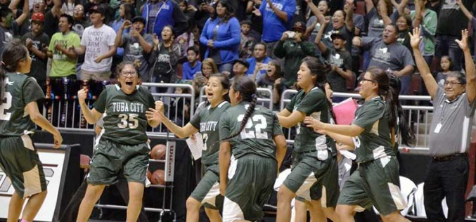 Tuba City girls knock off Safford to reach championship game