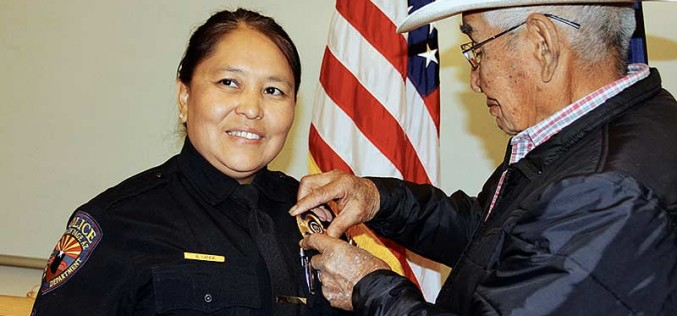 Page names its first Navajo woman sergeant