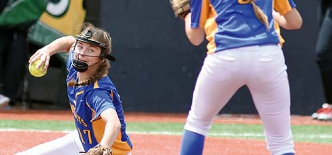 Bloomfield softball comes up short in Class 4A finals