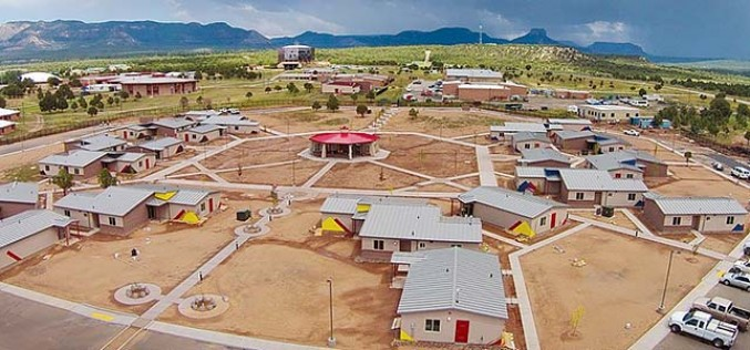Diné College unveils new housing, renovated SUB