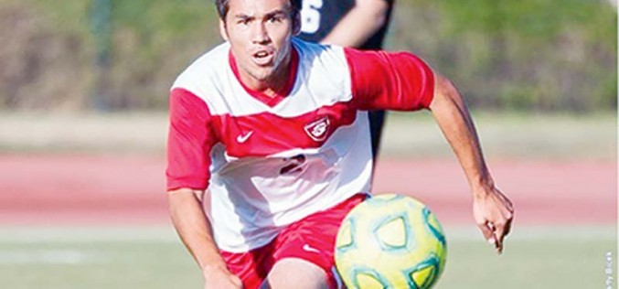 Native college soccer player hopes to inspire youth