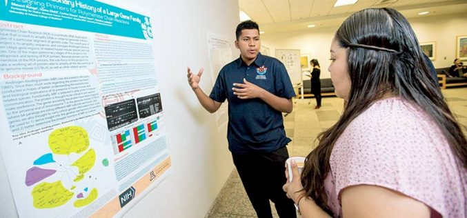 Early grad applies skills as cancer researcher