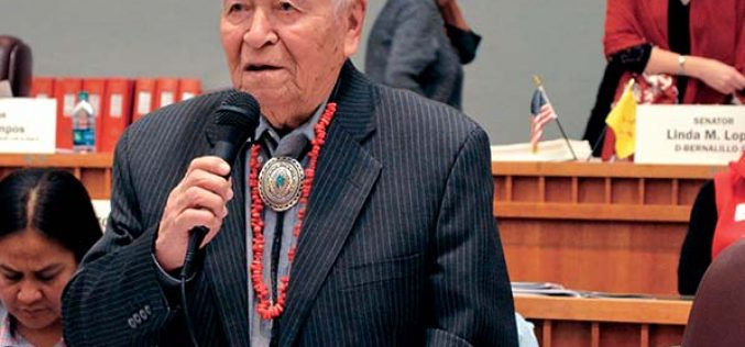 NM's valentine to Sen. Pinto: It's your day!