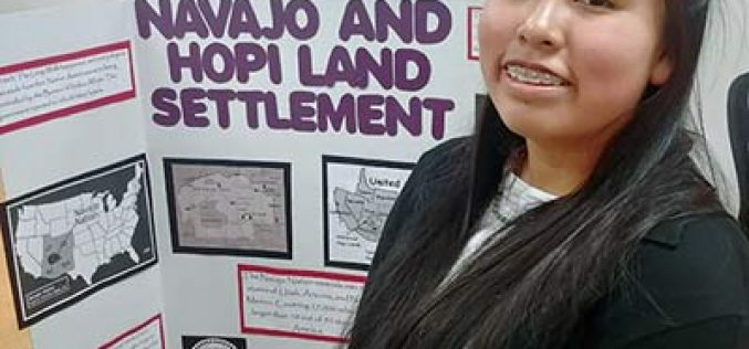 Diné student wins local History Day contest
