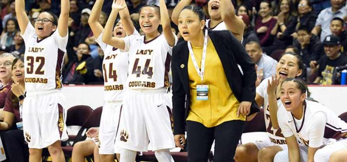 Lady Cougars reach state championship game with easy win