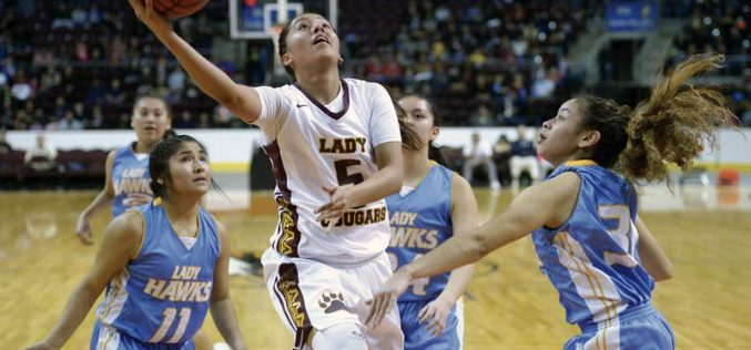 Lady Cougars play their game, aim for title defense