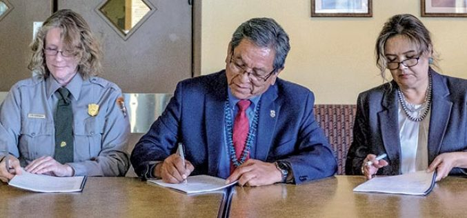 Agreement signed for Canyon de Chelly