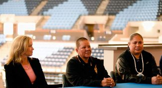 Past stars on hand for ASU-Baylor game, focus on youth